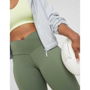 Aerie crossover leggings in green